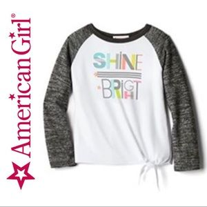 2/$20 🛍️ American Girl Shine Bright PJ Top